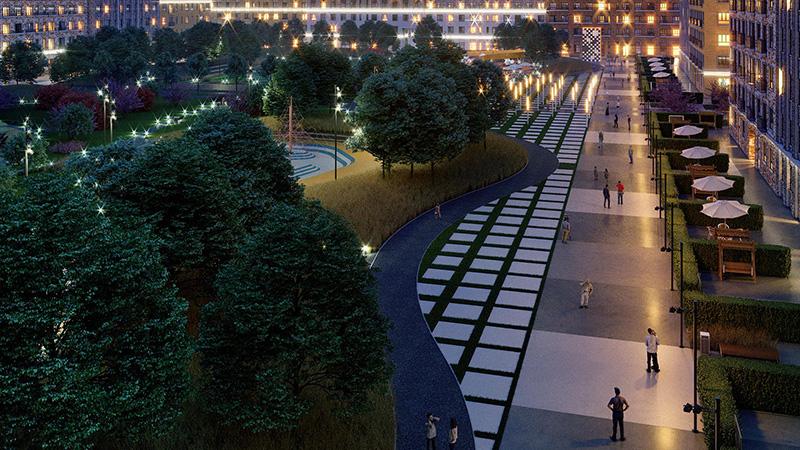 «Селигер сити» ЖК инфраструктура